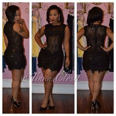 Tinka's Closet  - ISABELLE LACE DRESS, $86.00 (http://www.tinkascloset.com/isabelle-lace-dress/)