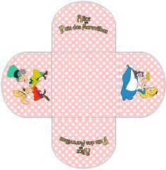 "Kit de Aniversário Digital ""Alice no País das Maravilhas"" para Imprimir - Convites Digitais Simples"