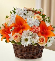 1800flowers thank you basket