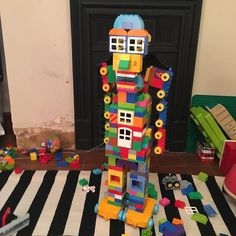 Duplo robot. Max helped!