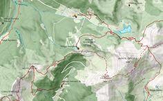 Bella cartografia online del #Trentino, basata su cartografia #Openstreetmap
