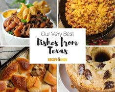 There's a reason people love Southern food. It's tasty and comforting! When it comes to Southern cuisine, Texas knows a thing or two about going big and bold. Best Fruit Salad, Fruit Salad Recipes, Southern Recipes, Southern Food, Southern Comfort, Creamy Chicken Casserole, Hash Recipe, State Foods, Delicious Breakfast Recipes