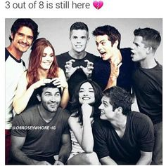 This breaks my heart. Teen wolf cast is so precious.