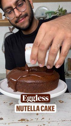 Healthy Cake Recipes, Dump Cake Recipes, Mug Recipes, Fun Baking Recipes, Snack Recipes, Chocolate Dishes, Comida India, Indian Dessert Recipes, Hacks