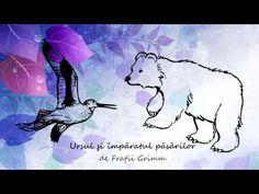 Fratii Grimm, Ursul si imparatul pasarilor, lectura Maia Martin