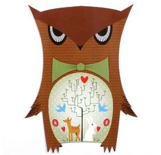 My Owl Barn: Owl Postcard