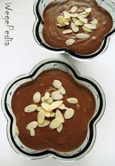 Prosty przepis na pyszny i bardzo zdrowy czekoladowy budyń z kaszy jaglanej słodzony tylko owocami. Pomarańczowo-piernikowy!
