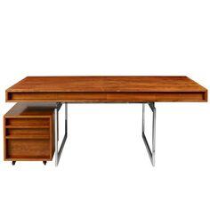 Bodil Kjaer Desk and Storage Unit | From a unique collection of antique and modern desks at http://www.1stdibs.com/furniture/storage-case-pieces/desks/