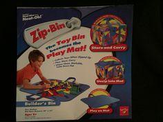 Lego Zip Bin