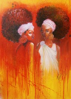 Afro sisters #naturalhair #curlyhair