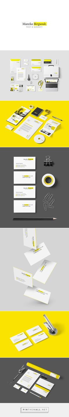 Mareike Bergunde Corporate Design - created via https://pinthemall.net