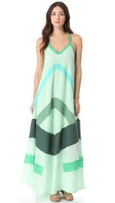 PJK Patterson J. Kincaid Hanalai Maxi Dress.  women's fashion.  style.