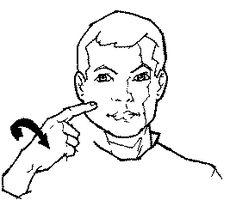 """candy"" American Sign Language (ASL)"