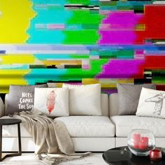Please don't adjust your walls! Stawsky will do it for ya...  #stawsky #design #murals #wallswork #tapetomat #wallpaper #wallpapers #designer #artist #tapeten #fashion #decorate #diy #wall #walls #vintage #retro #loft #tv #comingsoon #outoffocus #art #pixels #television #home #house #interior #interiordesign #weekend #friday