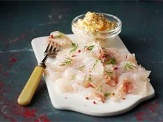 Graavisiika Whitefish, Fish And Seafood, Christmas Treats, Spice Things Up, Feta, Tapas, Mashed Potatoes, Spices, Sweets