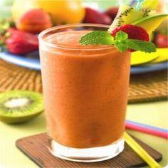Copy Cat Jamba Juice Recipes - Strawberries Wild, Mango-a-gogo, Orange dream machine :) YUMMMMM