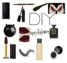"""""""Dark Horse"""" by julia-gudmundsson ❤ liked on Polyvore featuring beauty, Kevyn Aucoin, Lime Crime, Sephora Collection, NARS Cosmetics, Chanel, Elizabeth Arden, Topshop, Pier 1 Imports and Smashbox"""