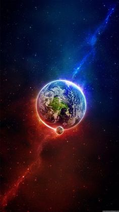 Space Iphone Wallpaper, Wallpaper Earth, Planets Wallpaper, Samsung Galaxy Wallpaper, Wallpaper Backgrounds, Wallpapers Ipad, View Wallpaper, Trendy Wallpaper, Globe Wallpaper