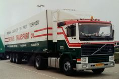 Volvo VL-81-BX  F10 III 4x2 met koeloplegger van Reyn's Transport