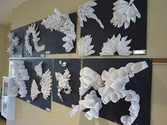 Mrs. Kamp's Canvas: Adventures in Middle School Art!: Sculptural Paper Relief