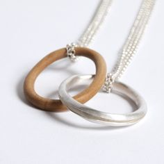 Connect Necklace | Contemporary Necklaces / Pendants by contemporary jewellery designer Grace Girvan