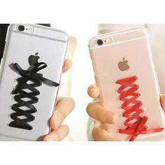 iPhoneケース レースアップ(iPhoneケース)