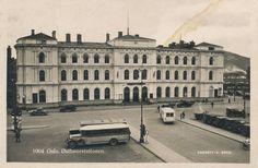 Oslo Østbanestasjonen 1920-tallet Foto: S. Gran