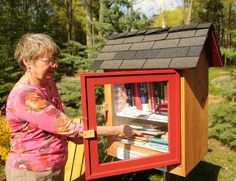 Little Free Library in Holland, Michigan #littlefreelibrary