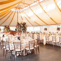 Tented Reception | Alexandra Tremaine Photography | Theknot.com