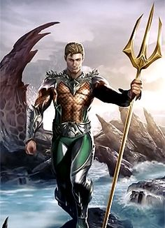 Injustice: Gods Among Us | Aquaman  <<< And people say Aquaman is useless