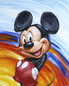 Rainbow Mickey - by Greg McCullough