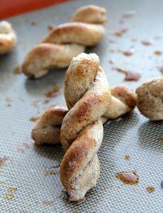 Honey Cinnamon Pretzel Twists