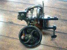 1872 Beckwith Sewing Machine