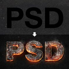55 Ridiculously Cool Photoshop Text Effect Tutorials for 2014