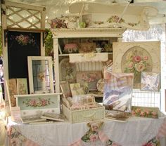 Chateau De Fleurs / Just a Few Photo's of Our June TVM 2012 Show Early Friday Morning Before We Opened
