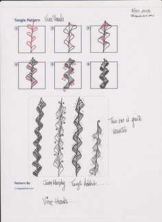 Zentangle+Patterns | Zentangle, Pattern