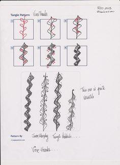 Zentangle+Patterns   Zentangle, Pattern