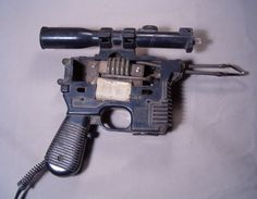 Han Solo pistol gutted and replaced with soldering gun innards - Craig Smith
