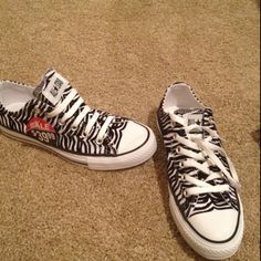 Cool Zebra Shoes