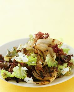 Grilled Onion Salad. #onions
