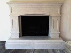 Cheap Home Decorating Websites Info: 3539155639 Stone Fireplace Mantel, Brick Fireplace Makeover, Modern Fireplace, Fireplace Surrounds, Fireplace Design, Cozy Basement, Basement Makeover, Interior Design Colleges, Modern Interior Design