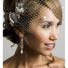 Dazzling Great Gatsby Accessories Wendy Louise -- Breakfast at Tiffany's Fascinator – The Knot Fascinator, Headpiece, Hair Jewelry, Fashion Jewelry, Jewellery, Great Gatsby Accessories, Tiffany Wedding, Breakfast At Tiffanys, Hair Ornaments