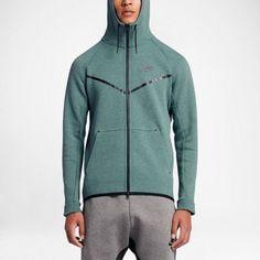 2dbffce8b Nike Tech Fleece Windrunner Hoodie Jacket Mens 2XL Hasta Black 805144 386 # Nike #Hoodie