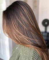 Winter Balayage Perfection For this Icy Winter - All For Hair Color Trending Hair Color Caramel, Hair Color For Black Hair, Ombre Hair Color, Green Hair, Purple Hair, Hair Colors, Burgundy Brown Hair, Maroon Hair, Dark Red Hair