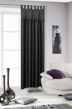 Perdea Cek 140X250 Negru 1 buc #homedecor #inspiration #interiordesign #livingroom #decoration Curtains, Living Room, Interior Design, Modern, Inspiration, Home Decor, Nest Design, Biblical Inspiration, Blinds