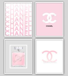 Wall Decor Print  Chanel  Chanel Print  Modern by lulusimonSTUDIO, $55.00