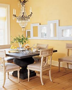 The Society's alpine château has an impressive Dijon-hued breakfast nook for one's morning quiche conquests. #greypoupon
