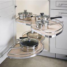 Lemans Ii Kitchen Blind Base Corner Organizers By Hafele | Kitchensource.com