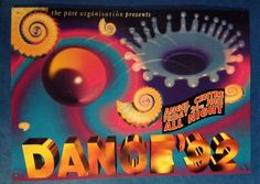 Dance 92 Rave Flyer ANGEL CENTRE Rave Flyer KENT A4 | eBay