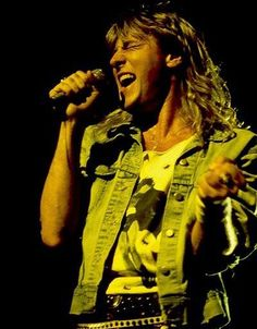 Joe Elliott, Def Leppard, gonna see him live in 15 days I might pee I'm so beyond excited!!!!!